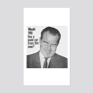 Nixon Used Car Rectangle Sticker