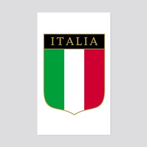 Italia Rectangle Sticker
