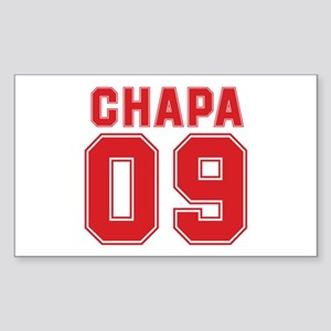 CHAPA 09 Rectangle Sticker