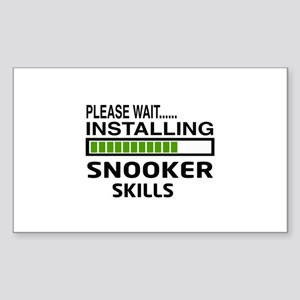 Please wait, Installing Snooke Sticker (Rectangle)
