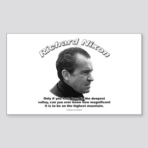 Richard Nixon 01 Rectangle Sticker