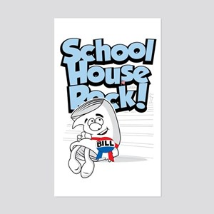 Schoolhouse Rock Bill Sticker (Rectangle)
