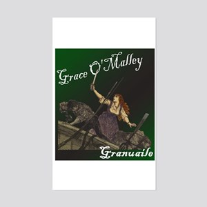 Grace O'Malley (Granuaille) Rectangle Sticker