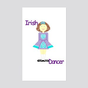 irishdancertee3 Sticker