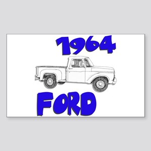 1964 Ford Truck Sticker (Rectangle)