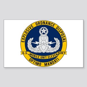 EOD Mobile Unit 11 Sticker (Rectangle)