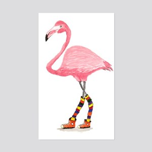 Styling Flamingo Sticker