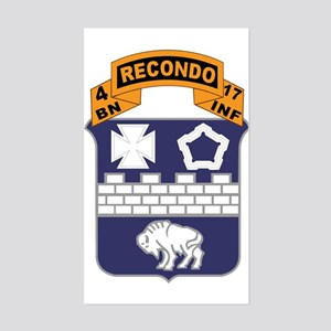 4-17 SBCT Recondo Sticker (Rectangle)