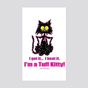 Funny Cancer Quotes Rectangle Stickers - CafePress