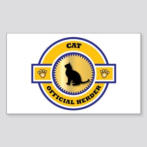 Cat Herder Rectangle Sticker