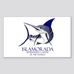 Islamorada Rectangle Sticker