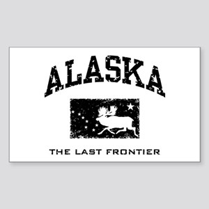 Alaska Rectangle Sticker