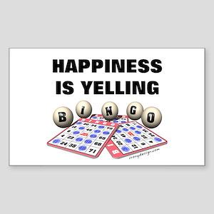 Funny Bingo Quotes Rectangle Stickers Cafepress