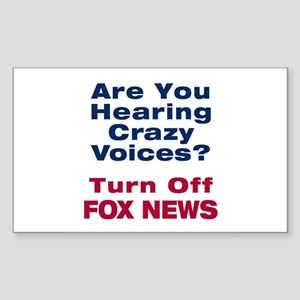 Turn Off Fox News Sticker