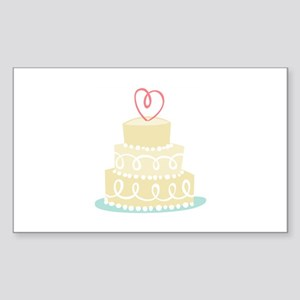 Wedding Cake Sticker
