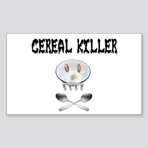 Cereal Killer Rectangle Sticker