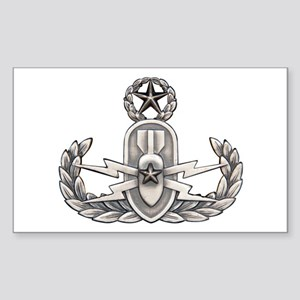 Navy Master EOD Sticker (Rectangle)