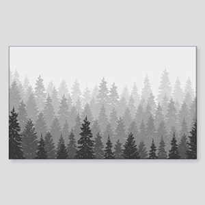 Gray Forest Sticker