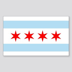 Flag of Chicago Sticker