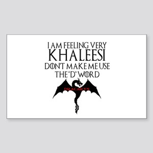 Khaleesi Sticker