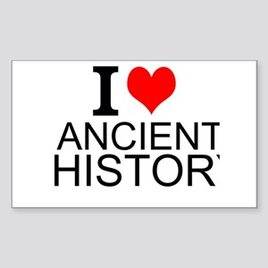 I Love Ancient History Sticker