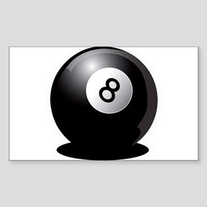 8 Ball! Rectangle Sticker