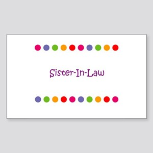 Sister-In-Law Rectangle Sticker