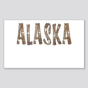 Alaska Coffee and Stars Sticker