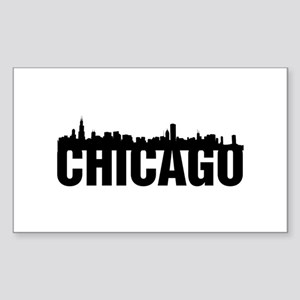 Chicago Sticker (Rectangle)