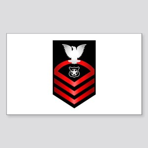 Navy Chief Master at Arms Sticker (Rectangle)