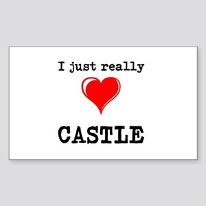 The Love for Castle Sticker