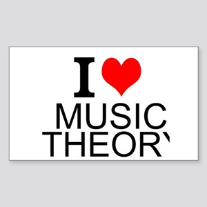 I Love Music Theory Sticker