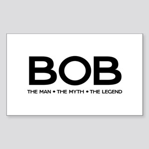 BOB The Man The Myth The Legend Sticker