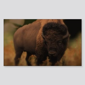 Powerful Bison Sticker
