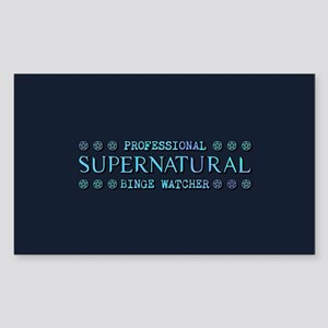 Professional Supernatural Bing Sticker (Rectangle)