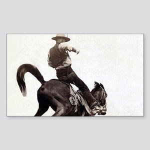 Vintage Rodeo Cowboy Sticker