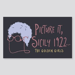 Golden Girls Picture It Sticker