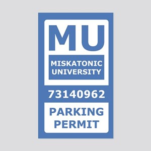 Miskatonic University Parking Pass (Generic)