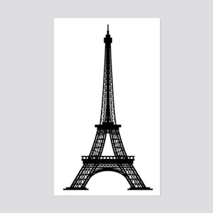 Eiffel Tower Rectangle Sticker