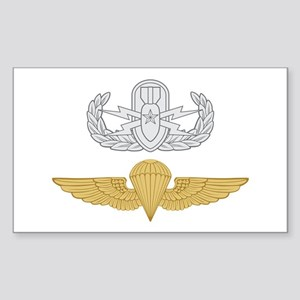 Senior EOD Parachutist Sticker (Rectangle)
