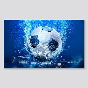 Ball Splash Over Stadium Sticker