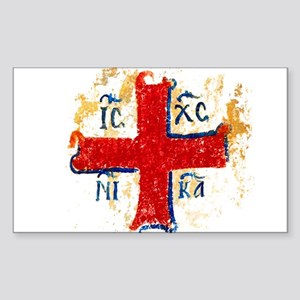 Greek Cross IC XC NIKA Sticker