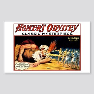 'homer's Odyssey 1911 Sticker (rectangle)