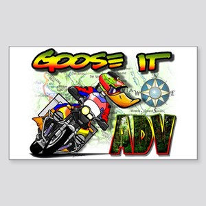Goose It ADVENTURE Rectangle Sticker