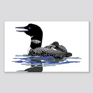 Calling Loon Sticker