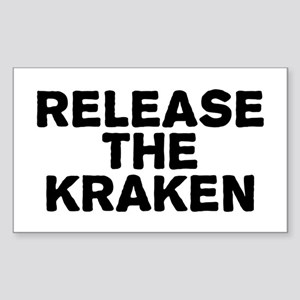 Release Kraken Sticker (Rectangle)