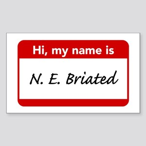 Hi My Name Is Carl Stickers Cafepress