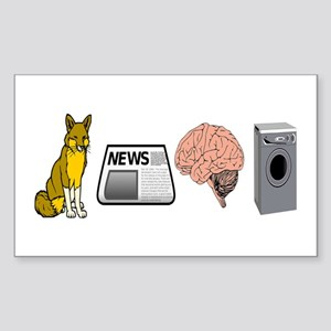 FOX NEWS Sticker (Rectangle)