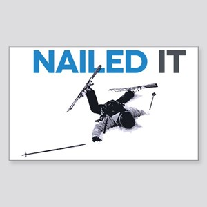 Nailed It Sticker (Rectangle)