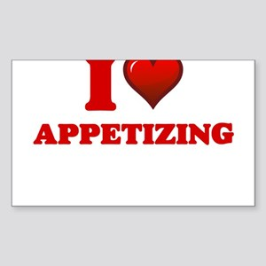 I Love Appetizing Sticker